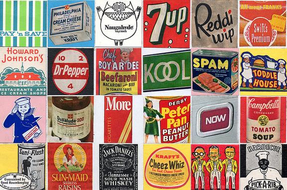 Ünlü markaların eski logoları